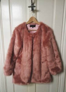 Belle & Bunty LOVES Pink Faux Fur Jacket