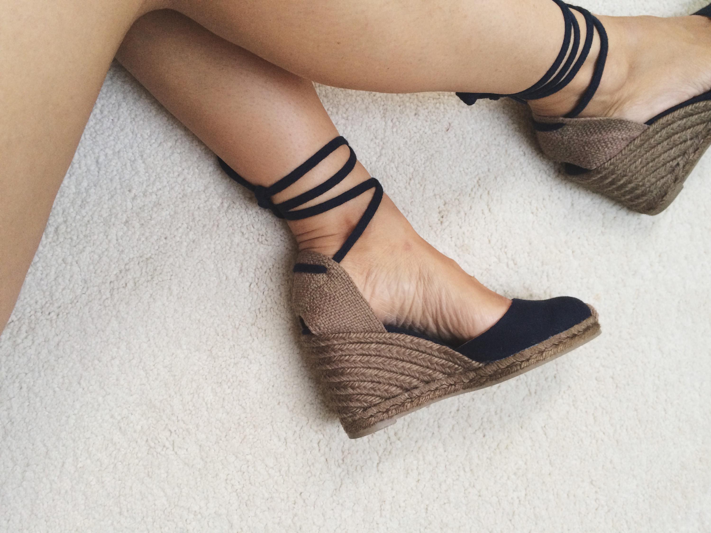 Castañer Ankle-tie espadrille wedges best wholesale online choice online outlet cheap C2EisNV3yT
