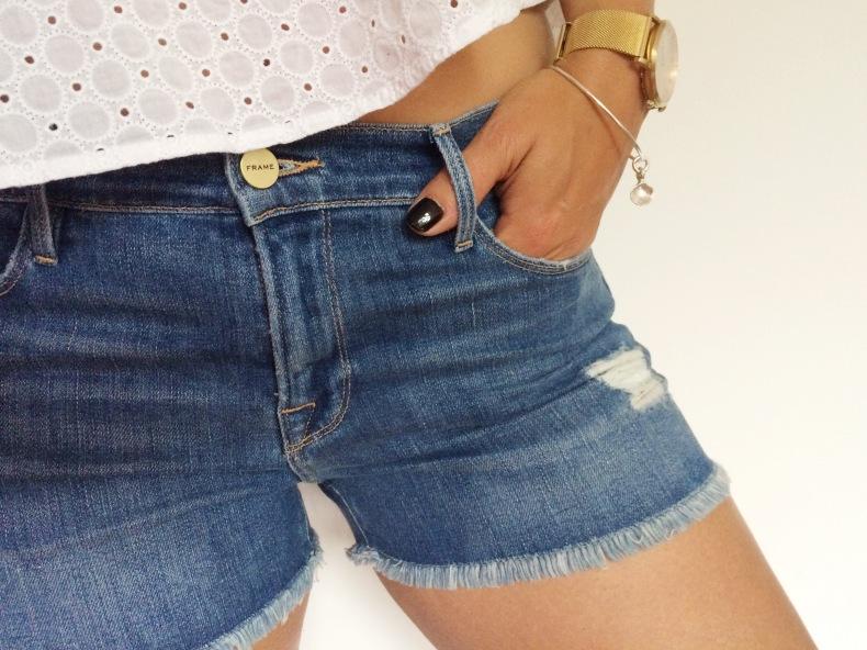 Frame Denim Shorts 'Le Cutoff'