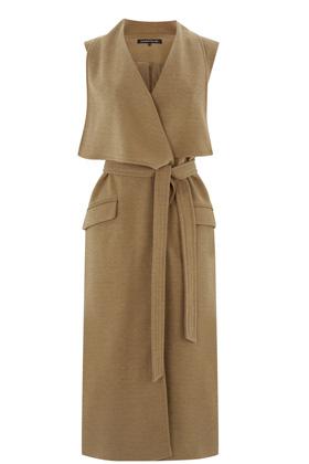 warehouse_camel_sleeveless_jacket